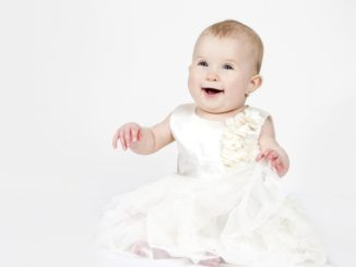 Happy Kid Little Baby Bridesmaid Child Girl